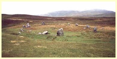 Cromlech - Círculo de Pedras