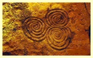 Triskle de Newgrange